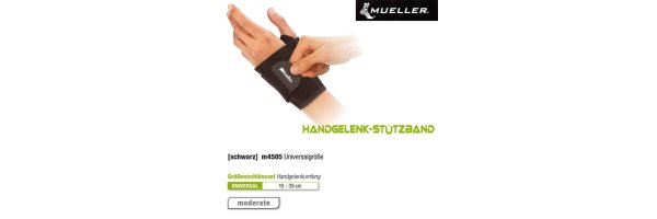 Handgelenkbandagen / Stützen