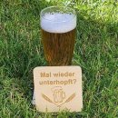 Bierfilz, Bierdeckel, Glasuntersetzer, Schilder, Unterlage, Wunsch Motiv,