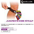 MUELLER Knieband universal,  Rot / Inhalt 1 Stück