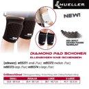 MUELLER Diamond Pad Schoner Ellenbogen-Knie-Schienbein...
