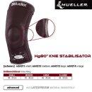 MUELLER Hg80 Knie Stabilisator in schwarz,  L / Inhalt 1...