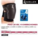 MUELLER Pro Level 4 Knieschoner in schwarz,  M / Inhalt 1...