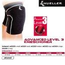 MUELLER Advanced Level 3 Knieschoner in schwarz,  L /...
