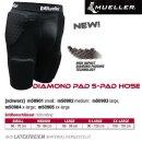 MUELLER Diamond Pad 5-Pad Hose,  S / Inhalt 1 Stück
