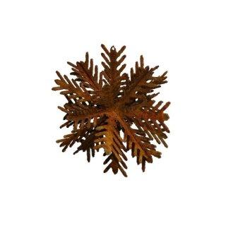 Scheeflocke Edelrost 3D 15,20 oder 30 cm