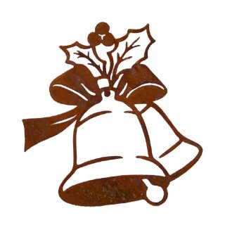 Glocken Edelrost Weihnachten