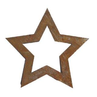 Stern 90 oder 70 cm Edelrost