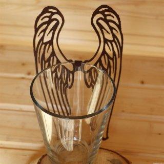 Engelsflügel zum einhängen am Glas