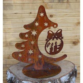 Weihnachtsbaum Sterne mit Kugel