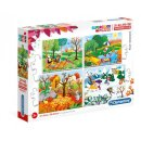 4-in-1Puzzle-Saisons 20/60/100/180 Teile