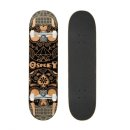 Skateboard - Candy Skull braun 79 x 20 cm