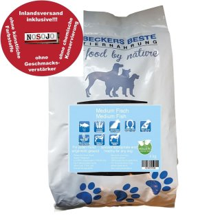 Beckers - Beste Premium Hundefutter Medium Fisch 4 kg