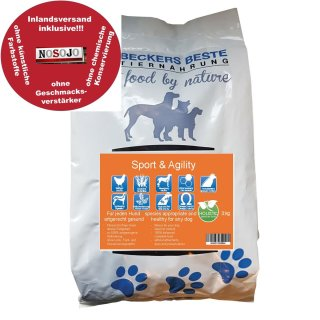 Beckers - Beste Premium Hundefutter Sport & Agility 3 kg