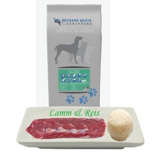 Beckers - Beste Premium Hundefutter Lamm & Reis 3 kg