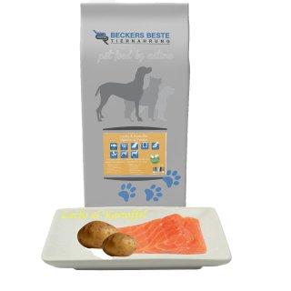 Beckers - Beste Premium Hundefutter Lachs & Kartoffel 3kg