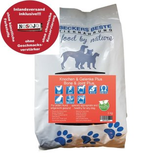 Beckers - Beste Premium Hundefutter Knochen & Gelenke PLUS 3kg