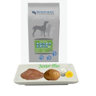 Beckers - Beste Premium Hundefutter Junior PLUS 3 kg