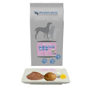 Beckers - Beste Premium Hundefutter Adult PLUS 3kg