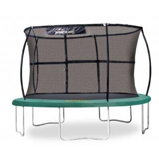 trampolin mit Sicherheitsnetz JumpPod Classic 305 cm grün