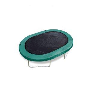 trampolinabdeckung schwarz oval 2,44 x 3,51 Meter