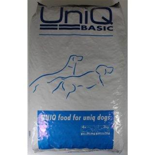 Hundetrockenfutter UniQ Basic 12kg Hundefutter
