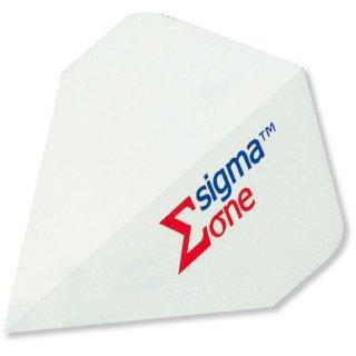 Unicorn Sigma One Flights weiß,  Sigma / Inhalt 12 Stück