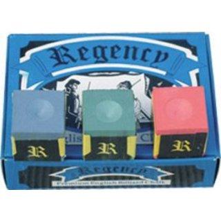 Regency Kreide blau und rot / Inhalt 3 Stück