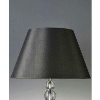Lampenschirme konisch schwarz glänzend