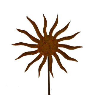 Edelrost Sonne