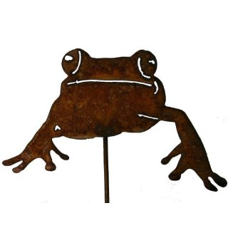 Frosch Gartenstecker