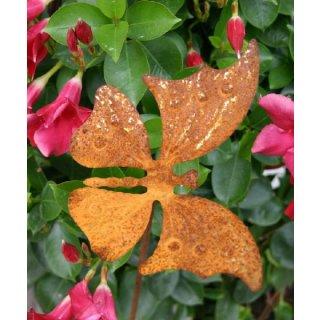 Schmetterling groß auf Stab