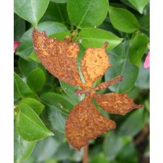 Schmetterling klein auf Stab