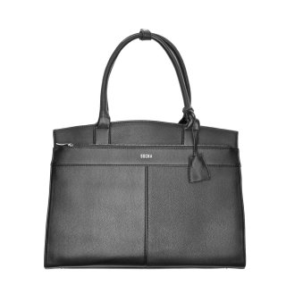 Business bag / Handtasche  Iconic Black  - 14-15.6, made from  NIVODUR