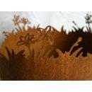Pflanzgefäß Blumenwiese Edelrost
