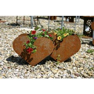 Herz zum Pflanzen doppelt